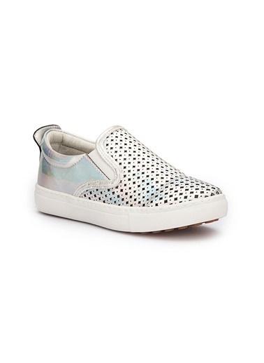 Pink Step Spor Ayakkabı Gümüş